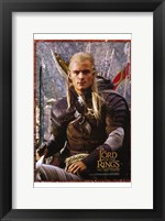 Framed Lord of the Rings: the Two Towers Legolas Screen Shot