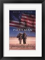 Framed Postman - American Flag
