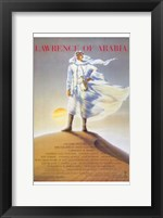 Framed Lawrence of Arabia Sand Dune