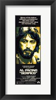 Framed Serpico