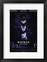 Framed Batman Returns Cast