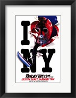 Framed Friday the 13th Part8 Jason takes Manhattan
