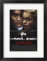 Framed Sleepy Hollow Johnny Depp