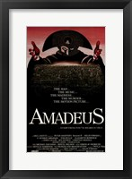 Framed Amadeus The Man... The Music...