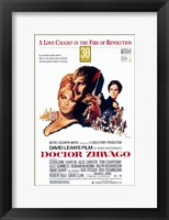 Framed Doctor Zhivago - A love caught in the fire of revolution