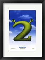 Framed Shrek 2 Logo