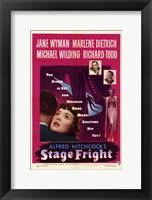 Framed Stage Fright Jane Wyman