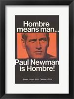 Framed Hombre Paul Newman
