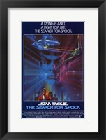 Framed Star Trek 3: the Search for Spock
