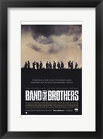 Framed Band of Brothers Silhouette