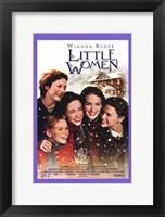Framed Little Women - purple frame