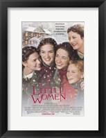 Framed Little Women - snow