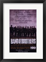 Framed Band of Brothers Extraordinary Things