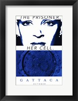 Gattaca The Prisoner. Her Cell. Framed Print