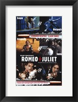 Framed William Shakespeare's Romeo Juliet Scenes