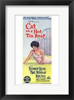 Framed Cat on a Hot Tin Roof Newman, Ives & Taylor