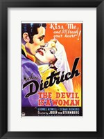 Framed Devil is a Woman