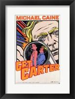 Framed Get Carter Comic