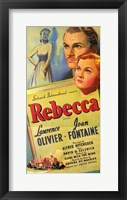 Framed Rebecca Olivier Fontaine