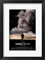 Framed Saving Private Ryan - Man Walking