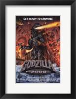 Framed Godzilla 2000