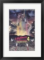 Framed Nightmare on Elm Street 4: Dream Master