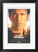 Framed Patriot Mel Gibson