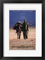 Framed Postman