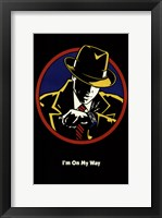 Dick Tracy I'm On My Way Framed Print