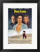 Framed Don Juan De Marco Johnny Depp