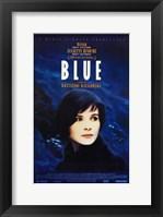 Framed Trois Couleurs: Bleu