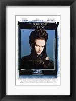 Framed Portrait of a Lady Nicole Kidman