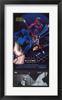 Framed Tron with Movie Scene