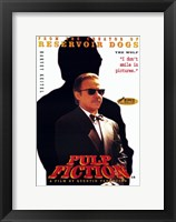 Pulp Fiction The Wolf Framed Print