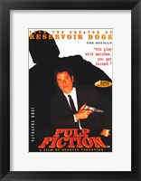 Pulp Fiction The Hitman Framed Print