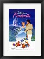 Framed Cinderella Mice