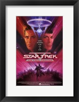 Framed Star Trek 5: the Final Frontier