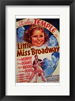 Framed Little Miss Broadway