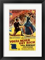Framed You'll Never Get Rich