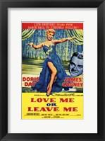 Framed Love Me or Leave Me