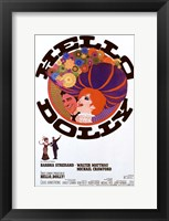Framed Hello Dolly