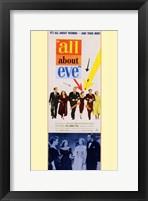 Framed All About Eve Color George Sanders