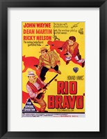 Framed Rio Bravo - yellow