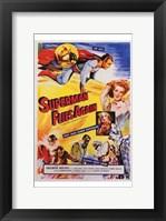 Framed Superman Flies Again