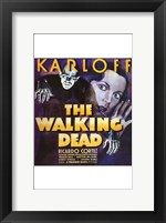 Framed Walking Dead With Ricardo Cortez