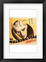 Framed Walking Dead Karloff