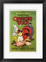 Framed Officer Duck