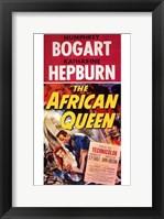 Framed African Queen Red