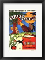 Framed Scary Crows