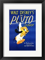 Framed Pluto Junior